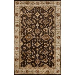 Hand-Tufted Brisa Border Wool Rug (2' x 3')