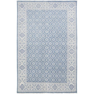 Hand-Knotted Vivienne Moroccan Trellis Wool Rug (3'6 x 5'6)