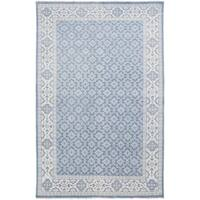 Hand-Knotted Vivienne Moroccan Trellis Wool Area Rug (3'6 x 5'6)