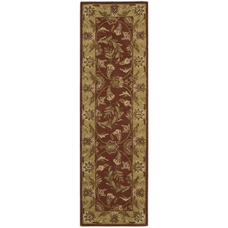 Rug Squared Worcester Rust Rug (2'3 x 7'6)