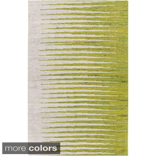 Hand-Woven Adelina Abstract Cotton Area Rug - 5' x 8' - Thumbnail 0