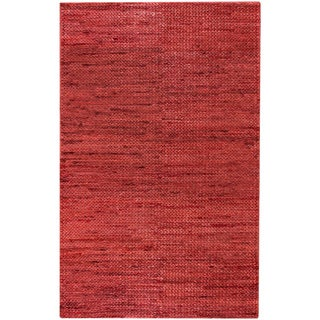 Hand-Woven Blanche Solid Jute Rug (5' x 8')