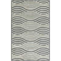 Hand-Tufted Addilyn Geometric Wool Area Rug - 8' x 10'