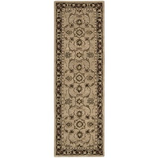 Rug Squared Worcester Taupe Rug (2'3 x 7'6)