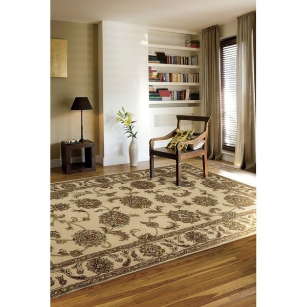 "Rug Squared Worcester Ivory Rug (2'6 x 4') - 2'6"" x 4'"