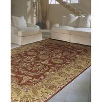 Rug Squared Worcester Rust Rug - 5' x 8'