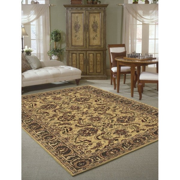 Rug Squared Worcester Gold Rug (5' x 8') - 5' x 8'