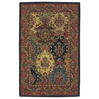 Rug Squared Worcester Multicolor Rug (2'6 x 4')