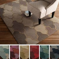 Hand-Tufted Ryde Moroccan Trellis Wool Rug