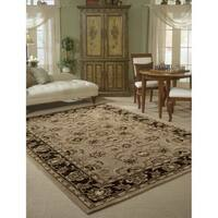 Rug Squared Worcester Taupe Rug (5' x 8')