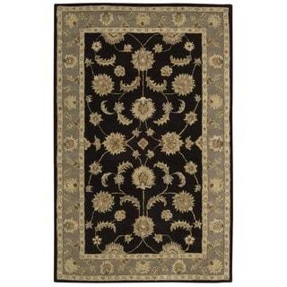 Rug Squared Worcester Black Rug (5' x 8')