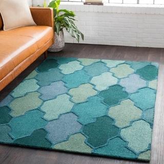 Hand-Tufted Ryde Moroccan Trellis Wool Rug