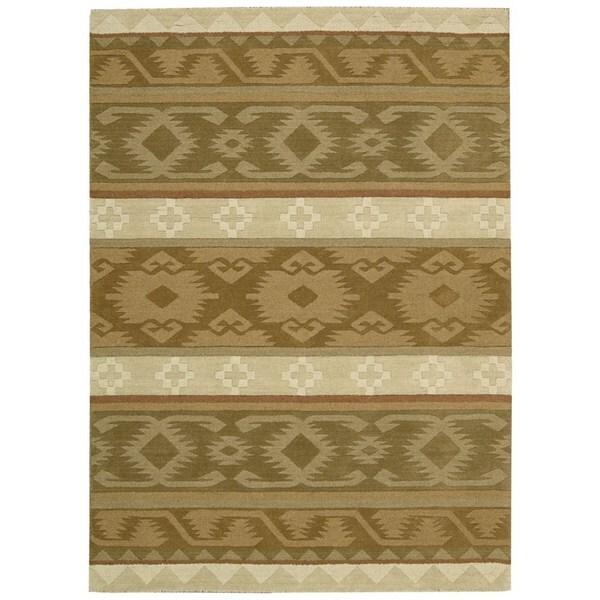 Rug Squared Worcester Camel Rug (5' x 8')