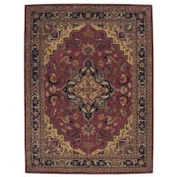 Rug Squared Worcester Rust Rug (8' x 10'6)