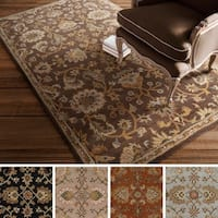 Hand-Tufted Yate Floral Wool Rug - 4' x 6'