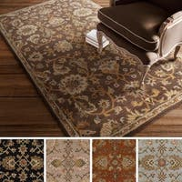 Hand-Tufted Yate Floral Wool Rug - 5' x 8'