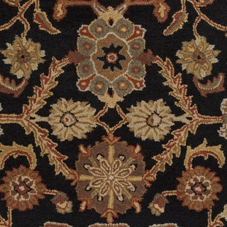 Hand-Tufted Acton Floral Wool Rug (5' x 8')