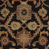 Hand-Tufted Acton Floral Wool Rug - 5' x 8'