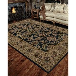Rug Squared Worcester Black Rug (8' x 10'6)