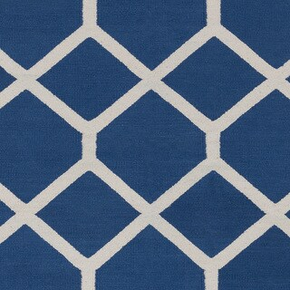 Flatweave Ware Crosshatched Cotton Rug (8' x 10')