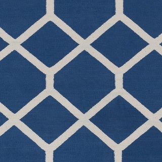 Flatweave Ware Crosshatched Cotton Rug (9' x 12')