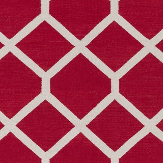 Flatweave Ware Crosshatched Cotton Rug (9' x 12')