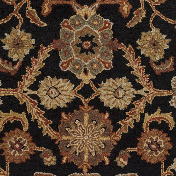 Hand-Tufted Acton Floral Wool Rug - 6' x 9'