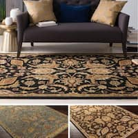 Copper Grove Arabath Hand-Tufted Floral Wool Rug (6' x 9')