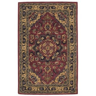 Rug Squared Worcester Rust Rug (2'6 x 4')