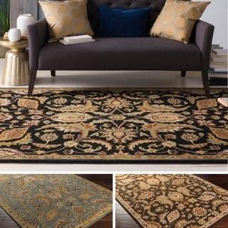 Hand-Tufted Alton Floral Wool Rug (7'6 x 9'6) - 7'6 x 9'6