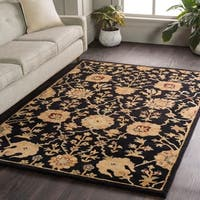 "Hand-Tufted Amble Floral Wool Rug - 7'6"" x 9'6"""