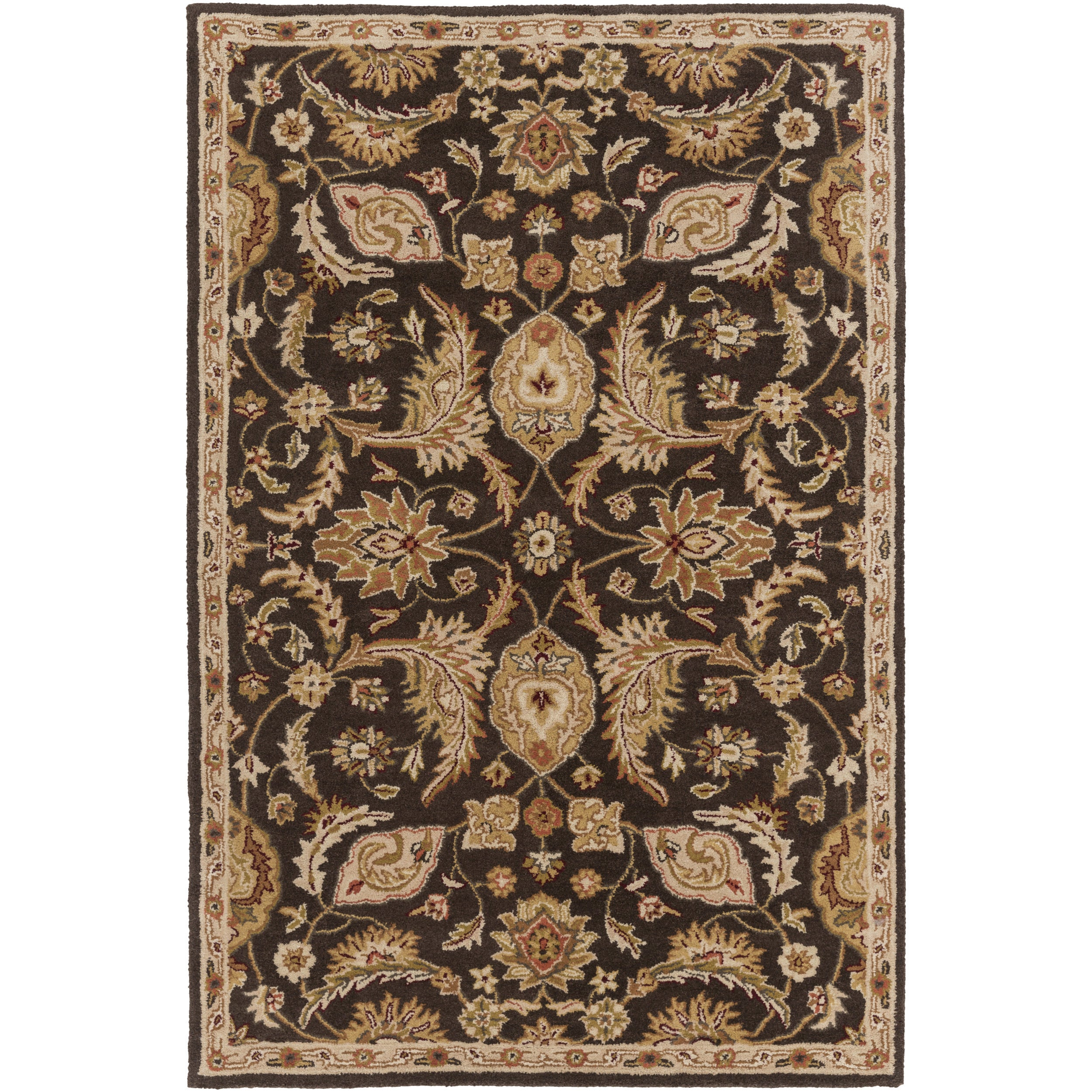 Shop Hand Tufted Alton Floral Wool Rug 2 X 3 Free