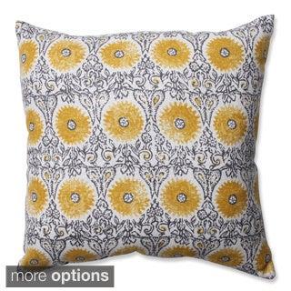 Pillow Perfect Riya Yellow Throw Pillow