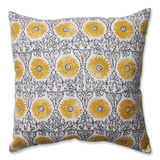 Pillow Perfect Riya Yellow Throw Pillow (2 options available)
