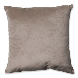 Pillow Perfect Belvedere Driftwood Knit Velvet Throw Pillow
