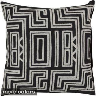 Decorative Chandler 18-inch Poly or Down Filled Throw Pillow