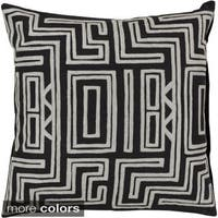 Decorative Chandler 18-inch Poly or Feather Down Filled Throw Pillow