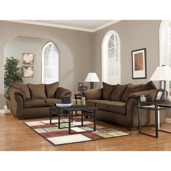 Art Van Darcy II Sofa and Loveseat SetCafeFree Shipping