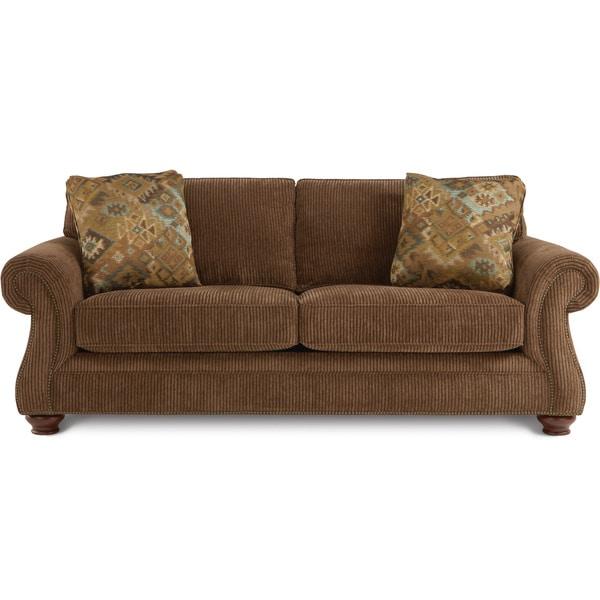 Shop Art Van Hearth Queen Sized Sleeper Sofa Free