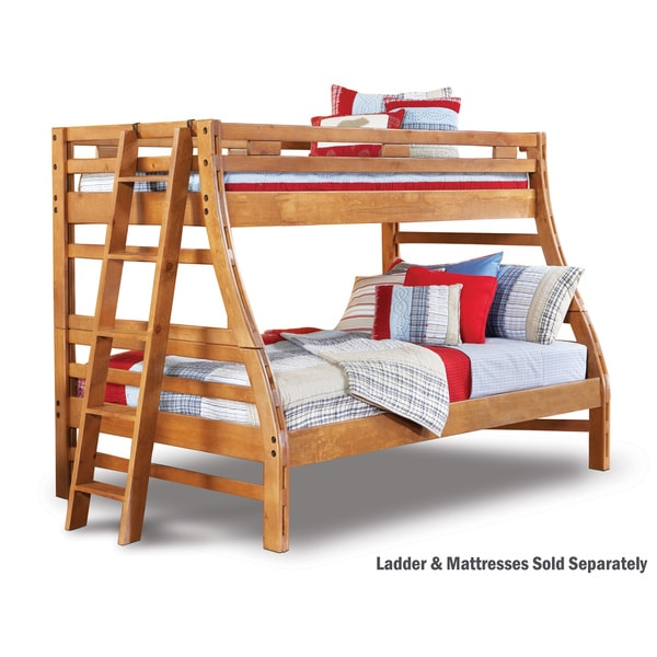 Shop Art Van Twin Over Full Bunk Bed Free Shipping Today