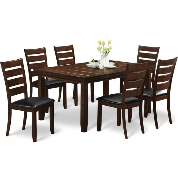 art van 7-piece edison dining room set - free shipping today