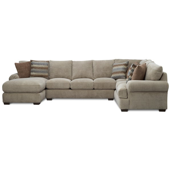 Shop Art Van Jasper 3 Piece Sectional Free Shipping