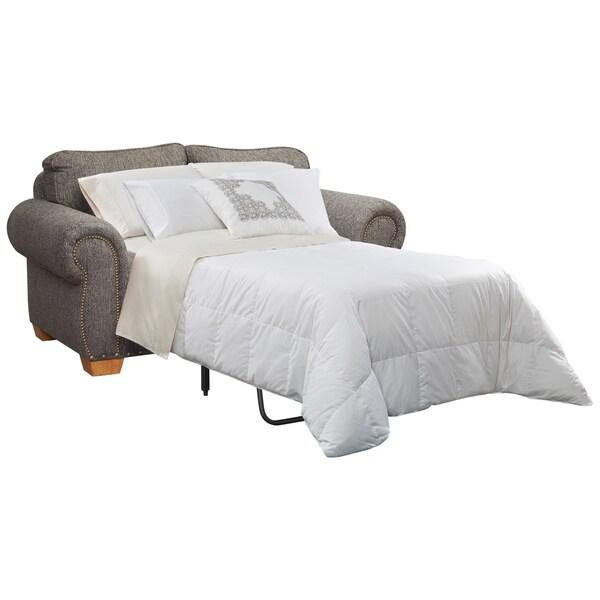 Art van granger full sleeper free shipping today for Red sectional sofa art van