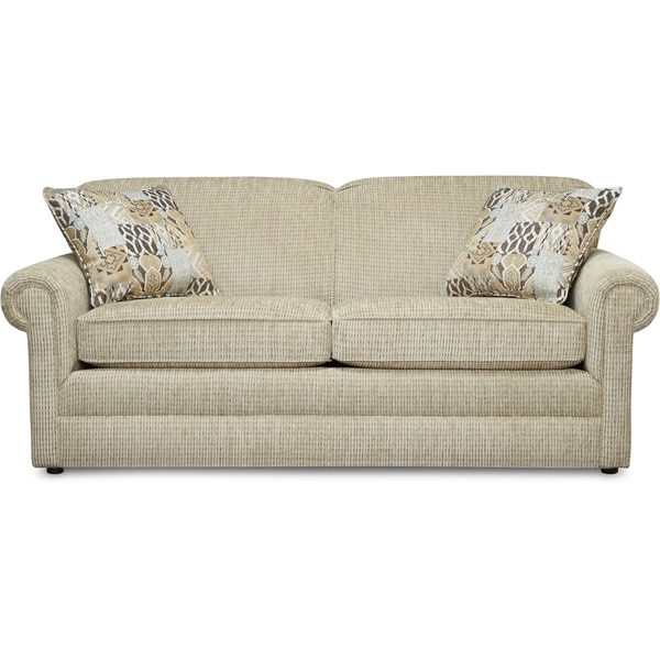 Shop Art Van Kerry Beige 72 Inch Sofa Free Shipping Today