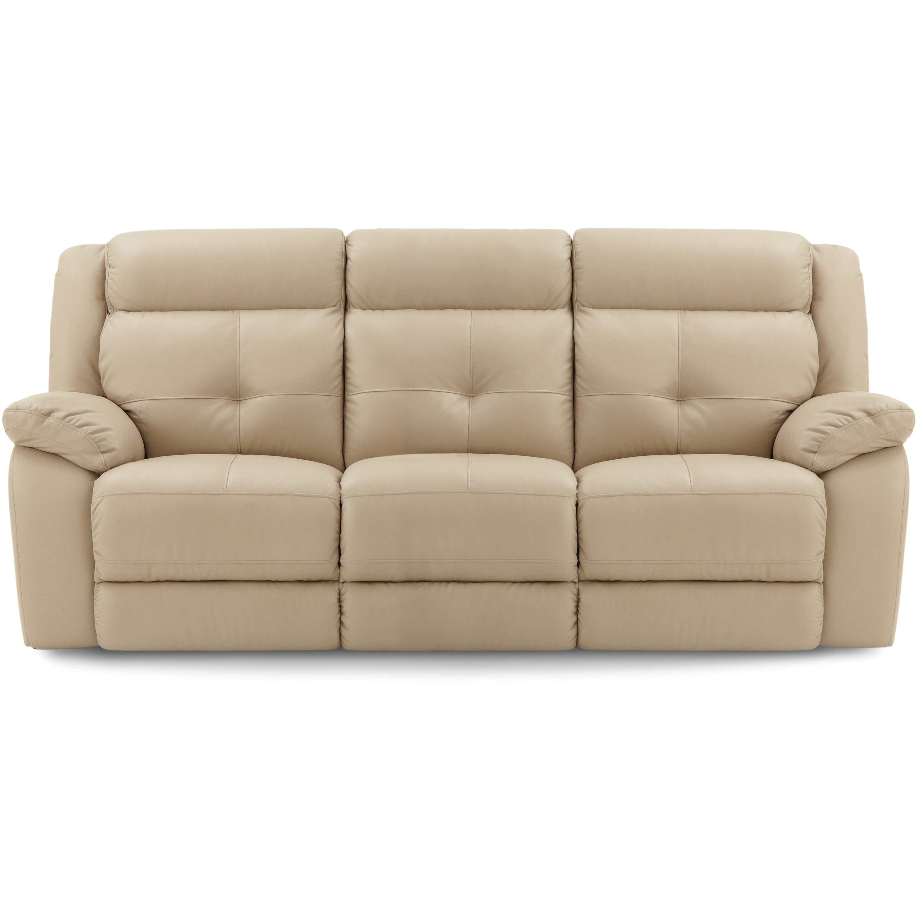 Art Van Power Leather Reclining Sofa Overstock 9947157