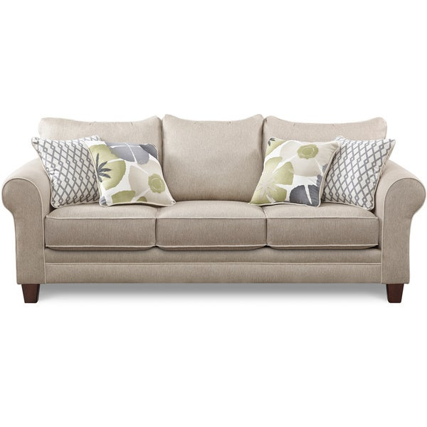 shop art van evan queen sleeper sofa free shipping today rh overstock com