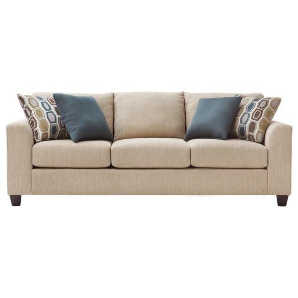 Art Van Neutral Twilight Iii Queen Sleeper Sofa Free Shipping Today 17101921