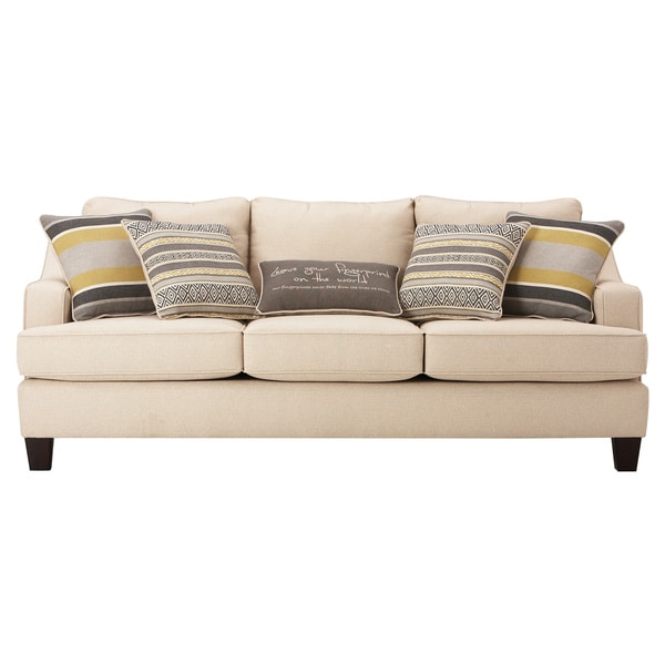 Shop Art Van Neutral Yardley Ii Sofa Free Shipping Today