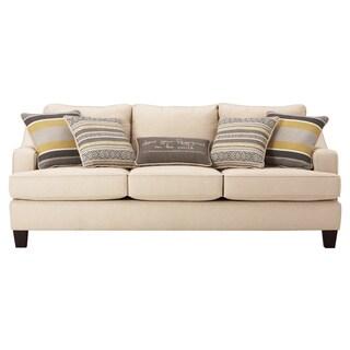 Art Van Neutral Yardley II Queen Sleeper Sofa Free Shipping Today Overstock
