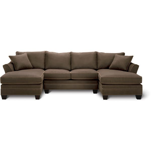 Superb Shop Art Van Dillon 3 Piece Sectional Free Shipping Today Ibusinesslaw Wood Chair Design Ideas Ibusinesslaworg